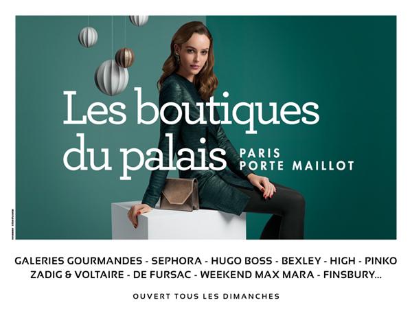 Les Boutiques du Palais, Visuel NOEL.