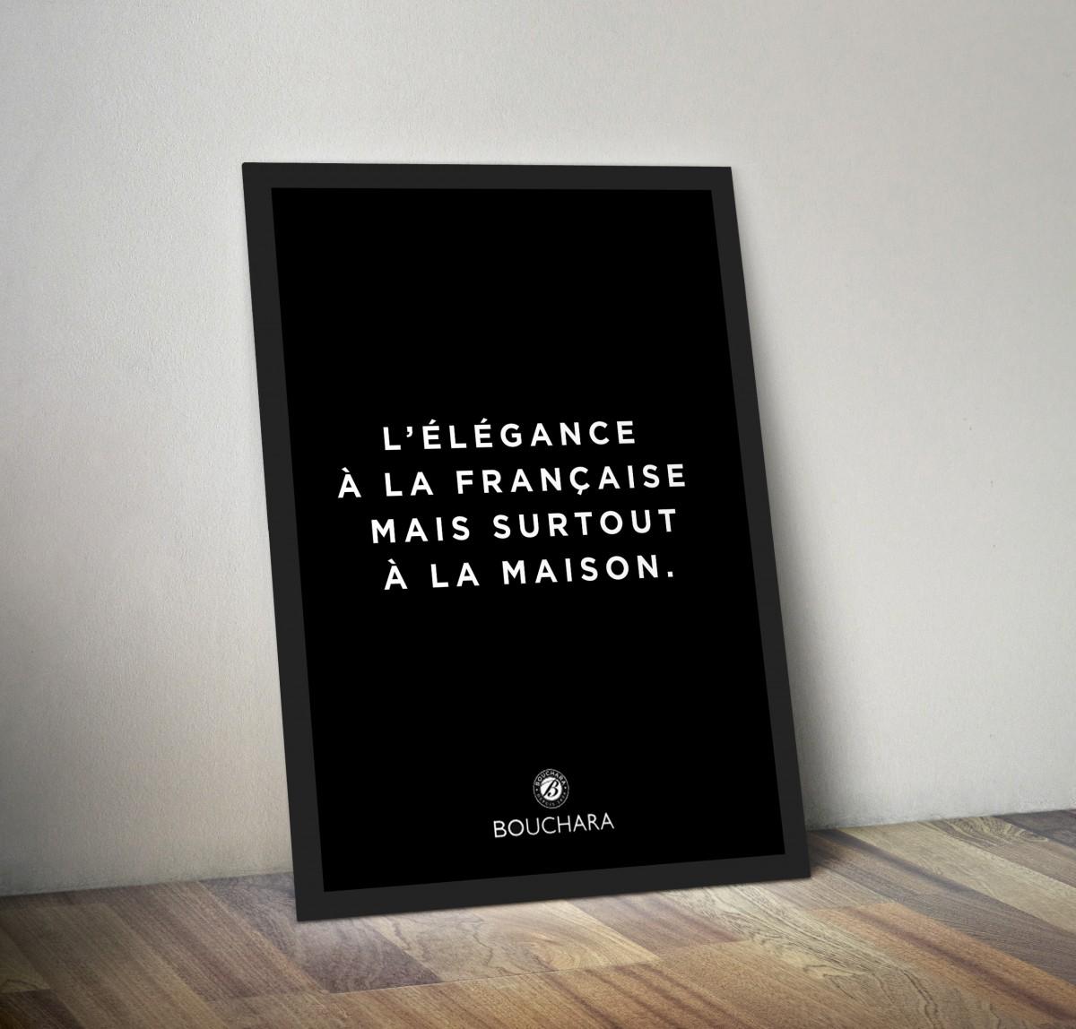 Bouchara_verygoodchoice_poster élégance